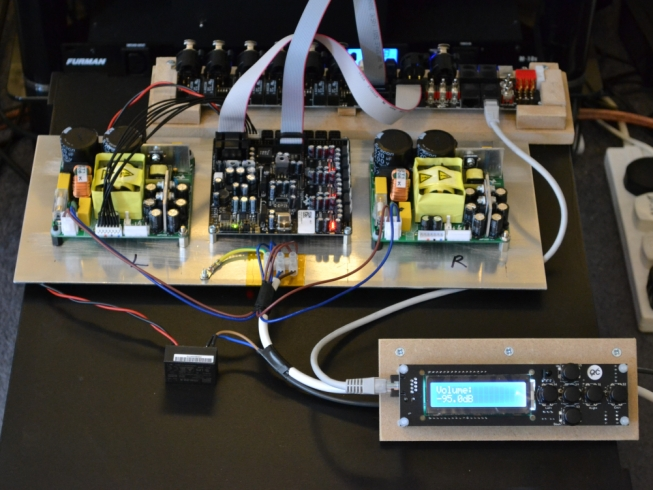 Hypex DLCP (DSP) with 6 Channel UcD Amp Project  [Archive